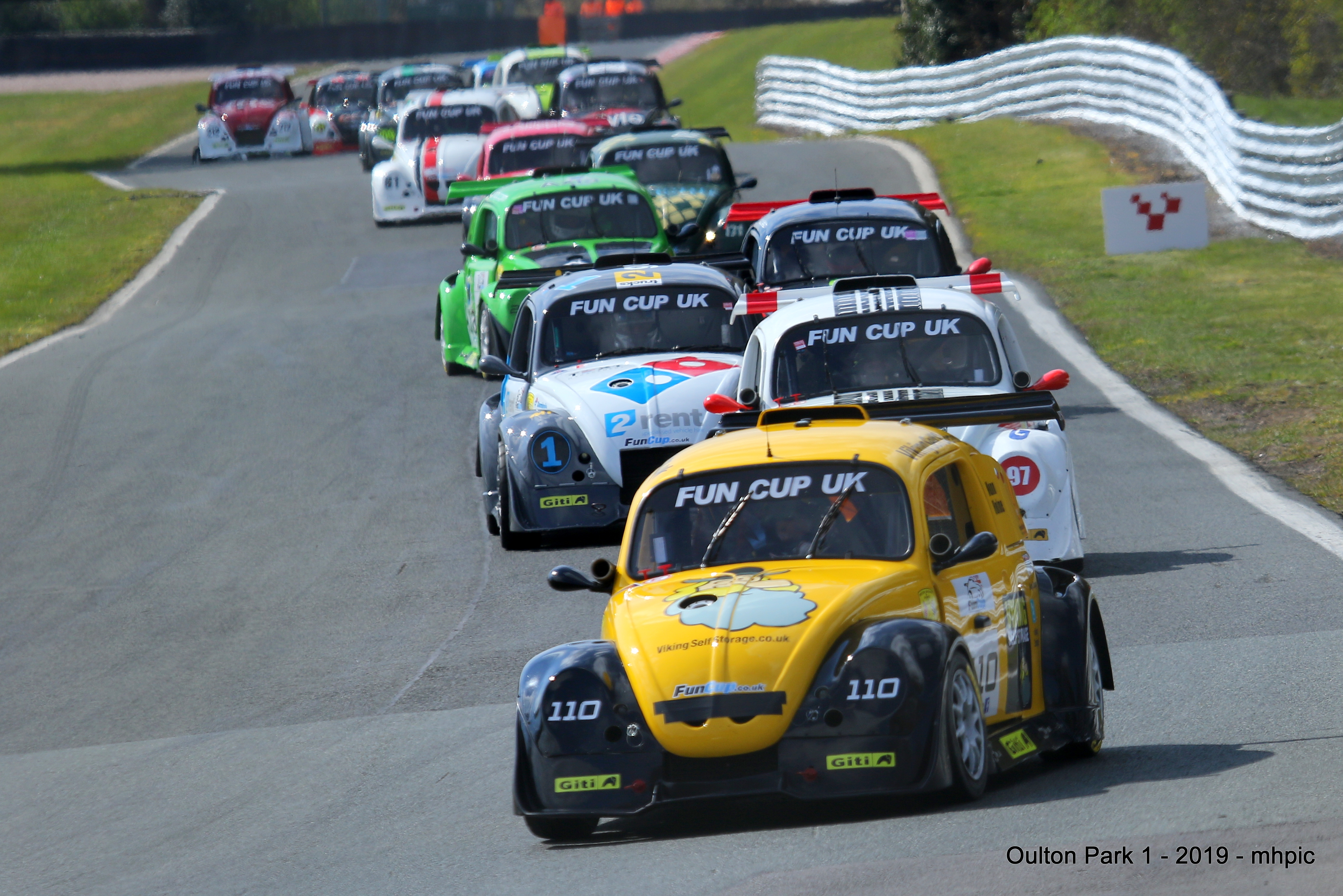 Difficult day at Oulton Park for Viking